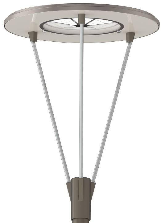 Парковый Фонарь RPS3, серии , 40 Вт