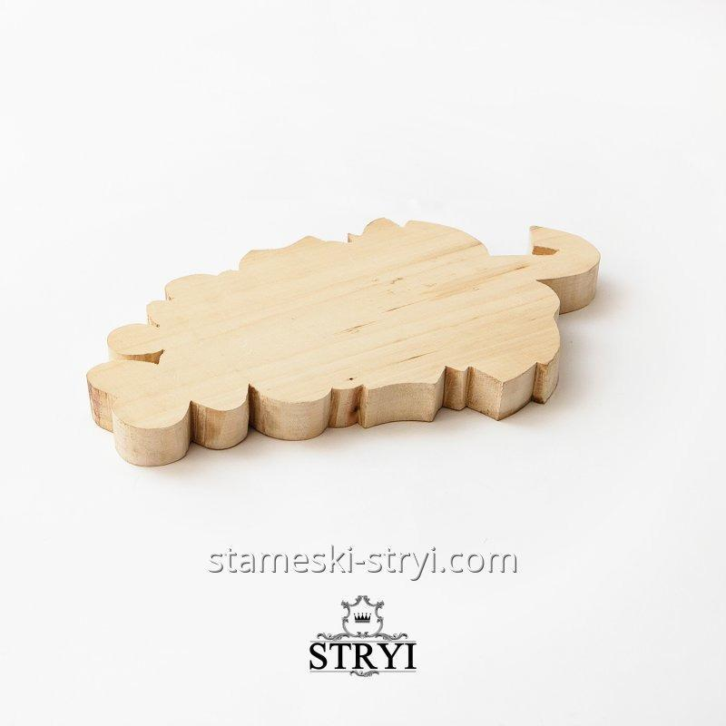 Заготовка деревянная гроны винограда из липы STRYI, арт.LG-02