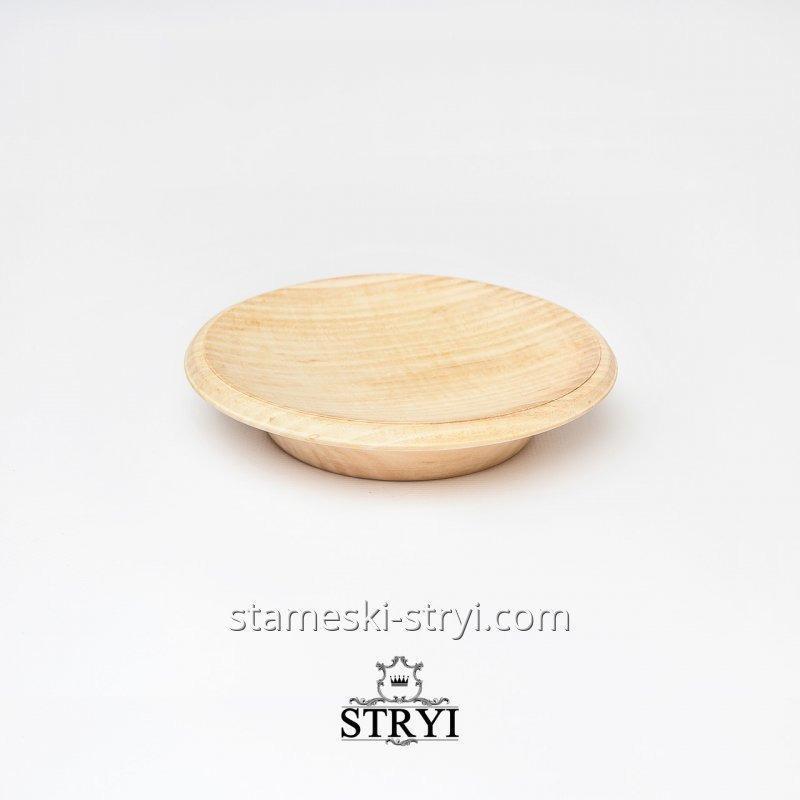 Тарелка, липовая заготовка для резьбы STRYI, арт.LT-12