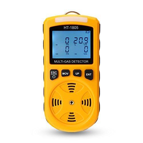Купить Газовый детектор HT-1805 (H2S, O2, СО, LEL)