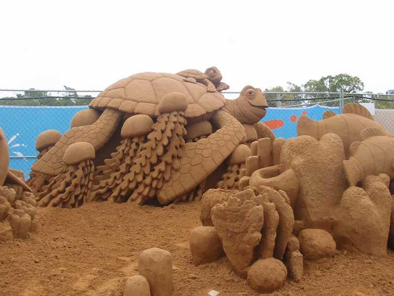 Соляно  песчаная смесь
