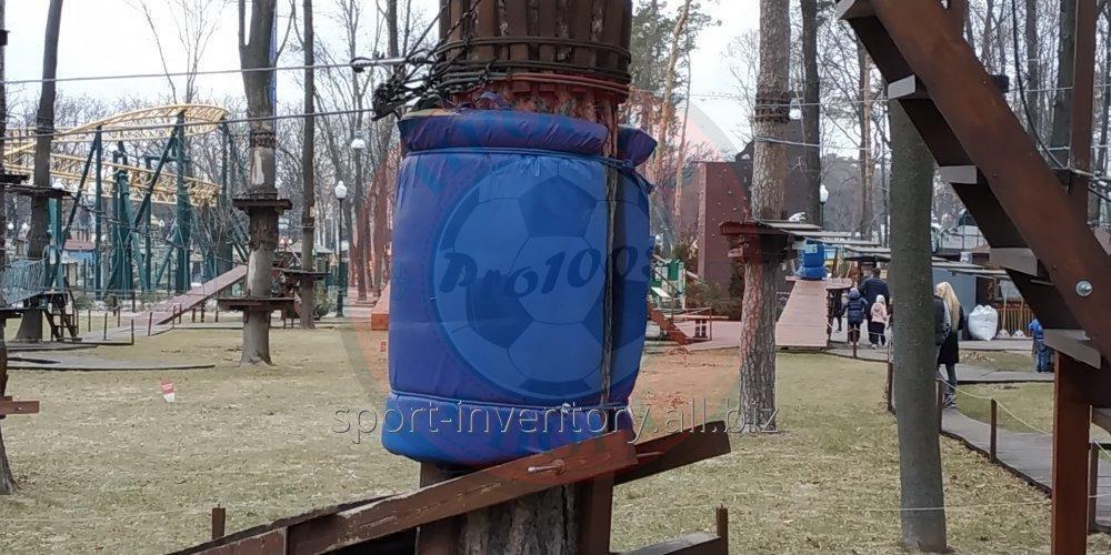 Защитный мат для веревочного парка
