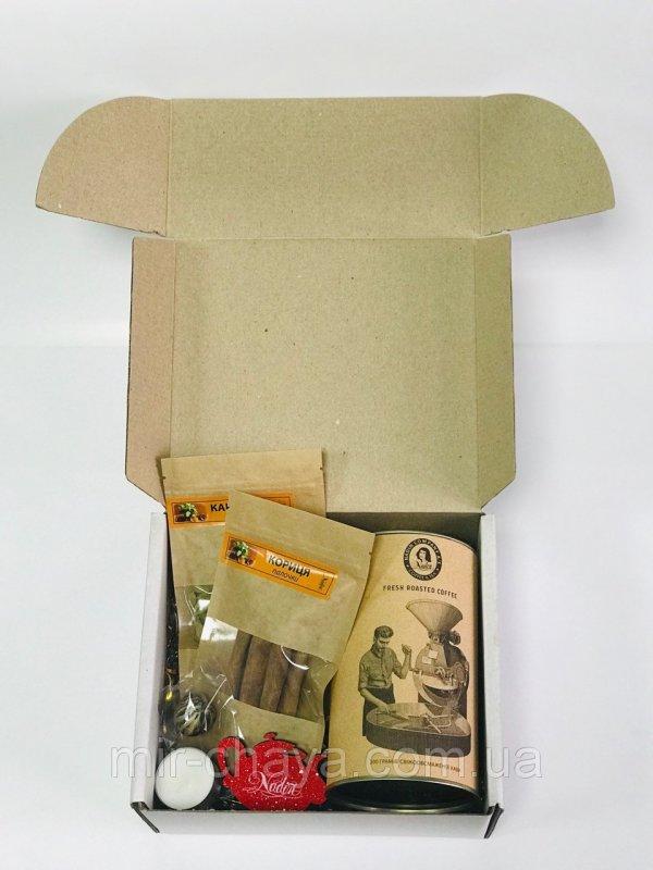 Купить Подарочный набор кофейный Пряный кофе 200 г ТМ NADIN