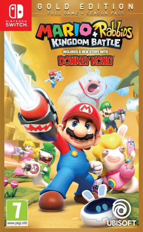 Купить Игра для Nintendo Switch Mario Rabbids Kingdom Battle Gold Edition