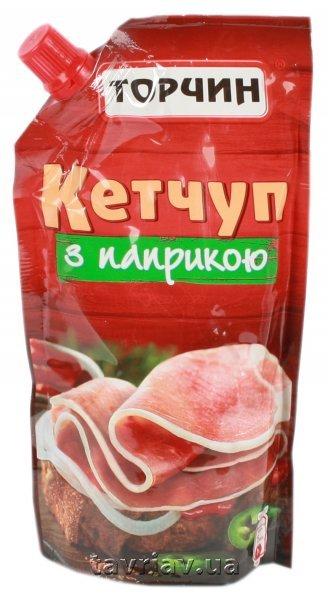 """Купить Кетчуп з паприкою ТМ """"Торчин"""" , 300 г * 35 шт"""