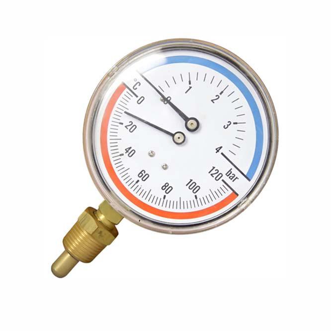 Термометр ТМ-10 с указателем температуры и давления