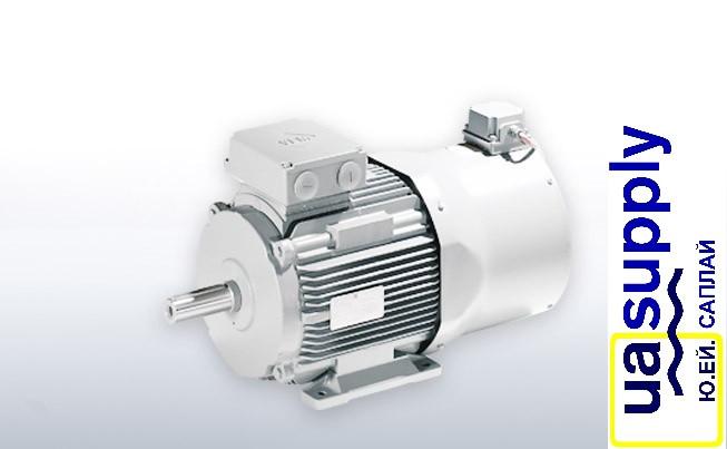 Электродвигатель синхронный с постоянными магнитами большей мощности