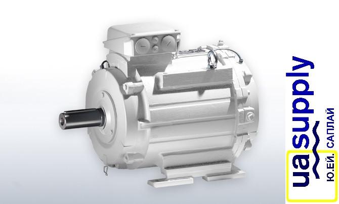 Электродвигатель с водяным охлаждением