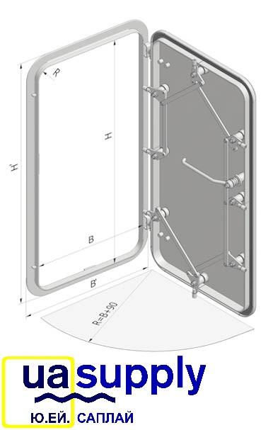 Двери водонепроницаемые при непогоде