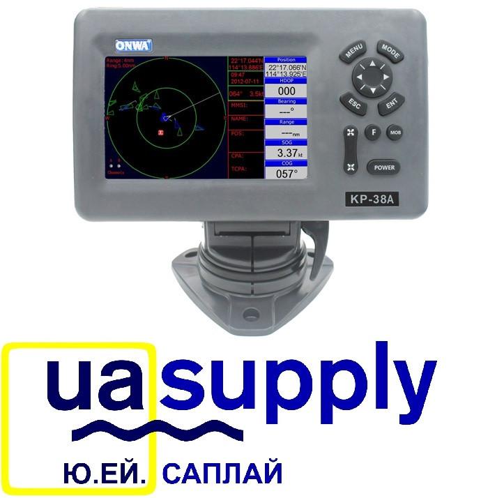 5-inch GPS Chart Plotter with Class B AIS Transponder KP-38A