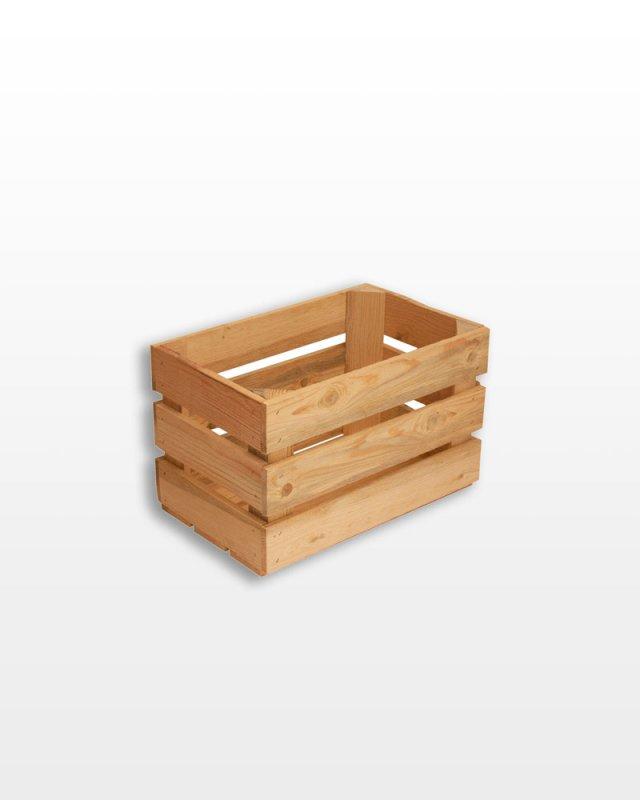 Купить Ящик деревянный 40x25x25