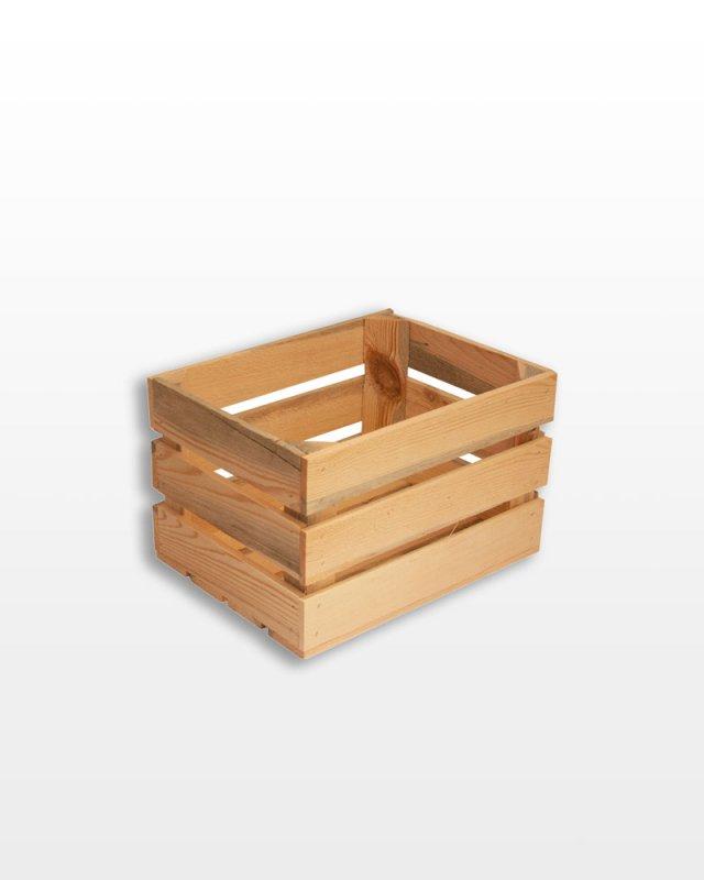 Купить Ящик деревянный 40x30x25