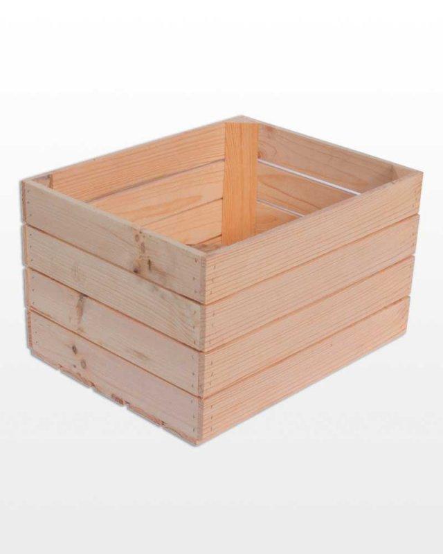 Buy Wooden box 50x40x30 cube Polish