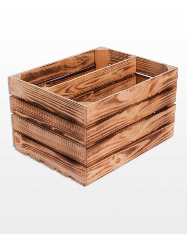 Buy Drawer wooden partition longest 50x40x30 cube burned Polish