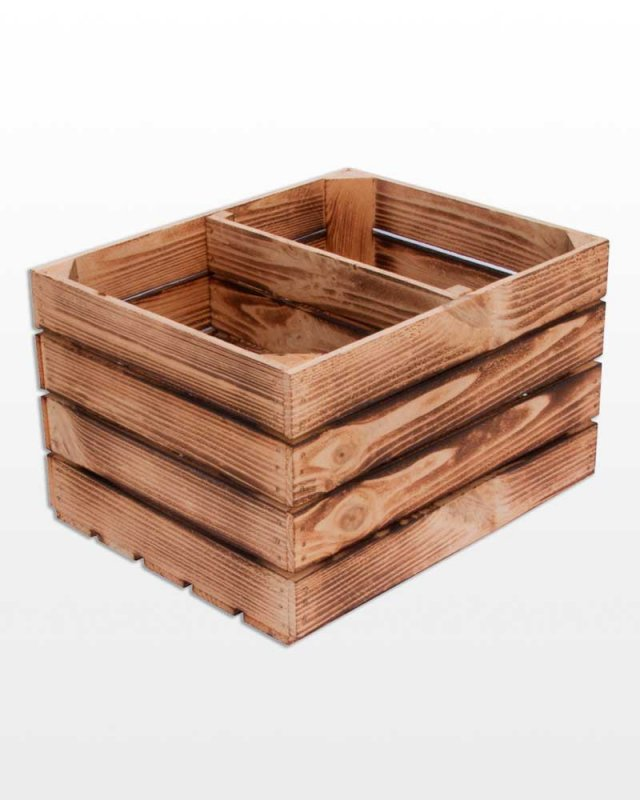 Buy Drawer wooden partition short 50x40x30 cube burned Polish