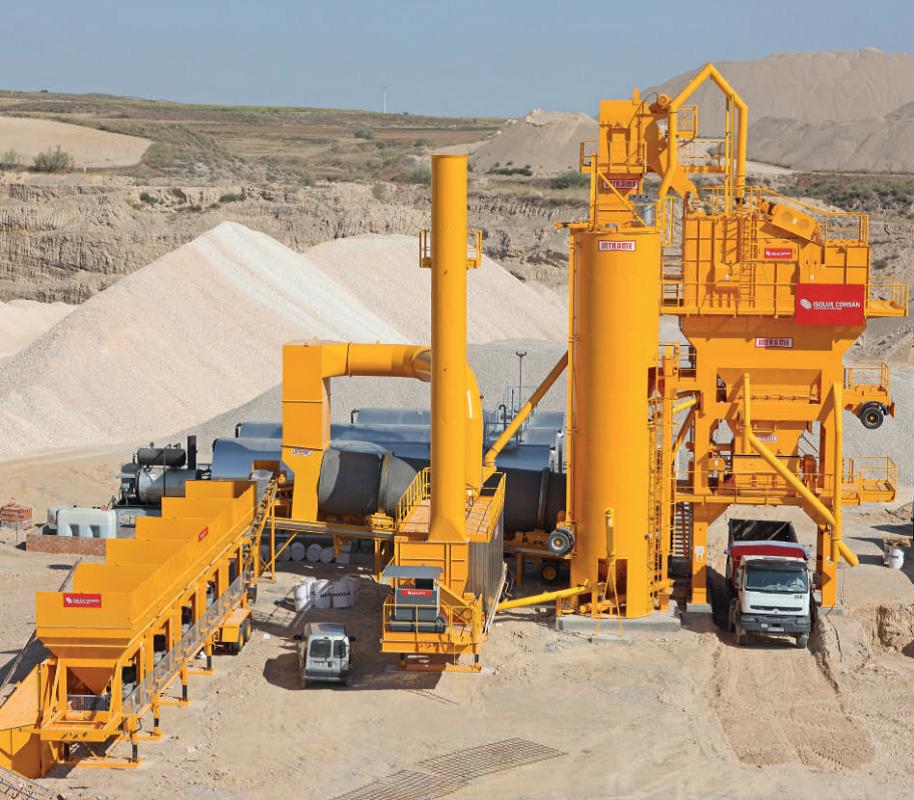 Buy / Used mobile asphalt plant INTRAME UM 260 (2005, in.)