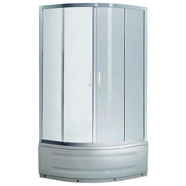 Купить Душевая кабина 80*80*200 см, на глубоком поддоне, профиль белый, стекло Zuzmara EGER TISZA MELY 599-186