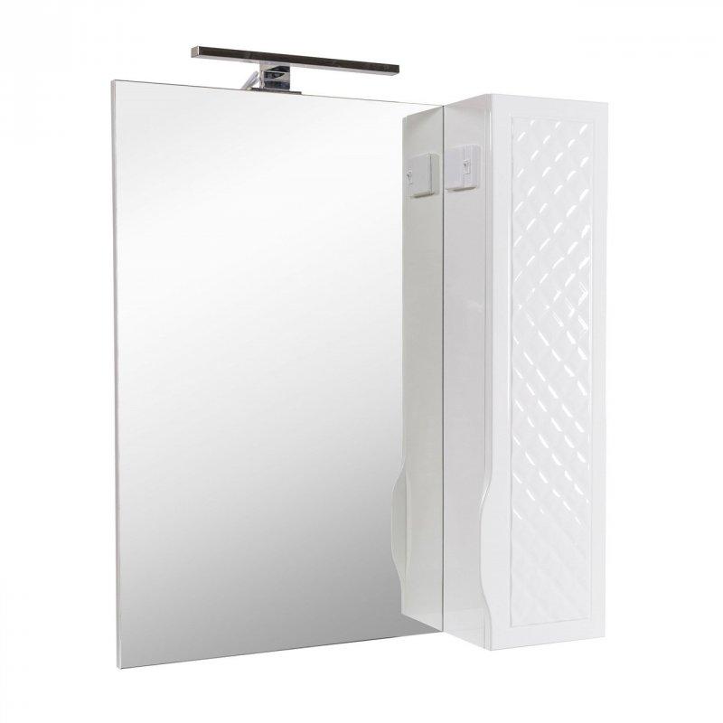 Купить Зеркальный шкаф Аква Родос Родорс 70 см. правый с подсветкой