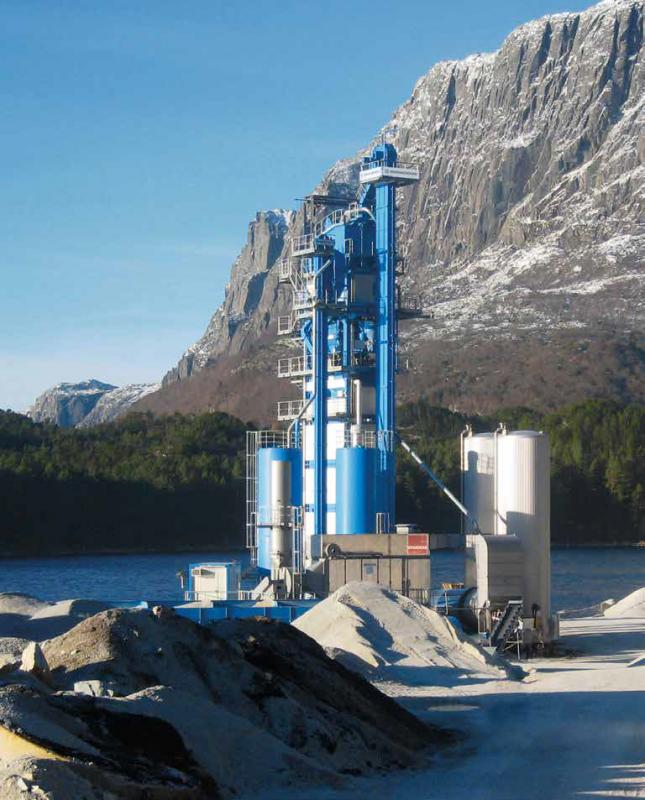 Buy BU stationary asphalt plant Benninghoven TBA- 200 tons / hour (2009).
