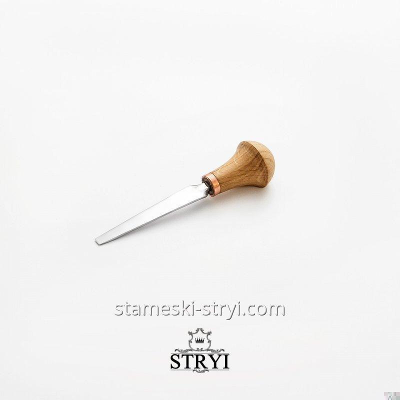 Штихель STRYI плоский для резьбы и гравировки, 3 мм