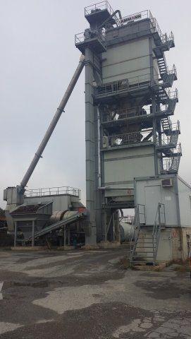 Buy / Used stationary asphalt plant Ammann 200 t / h, 2007 in.