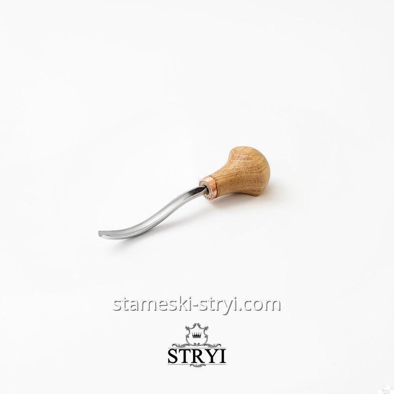 Штихель клюкарза STRYI, для резьбы и гравировки по дереву, профиль 9, арт.40910