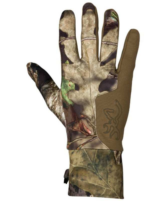 Перчатки для охоты легкие Browning Hell's Canyon Riser Liner Glove