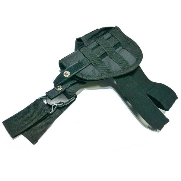 Купить Тактическая кобура на ногу черная