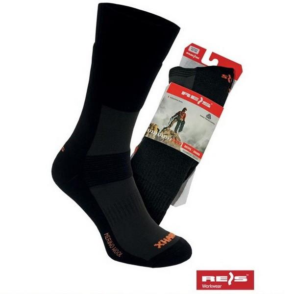 Купить Носки с усиленной подошвой мужские BSTPQ-XHARD чёрные