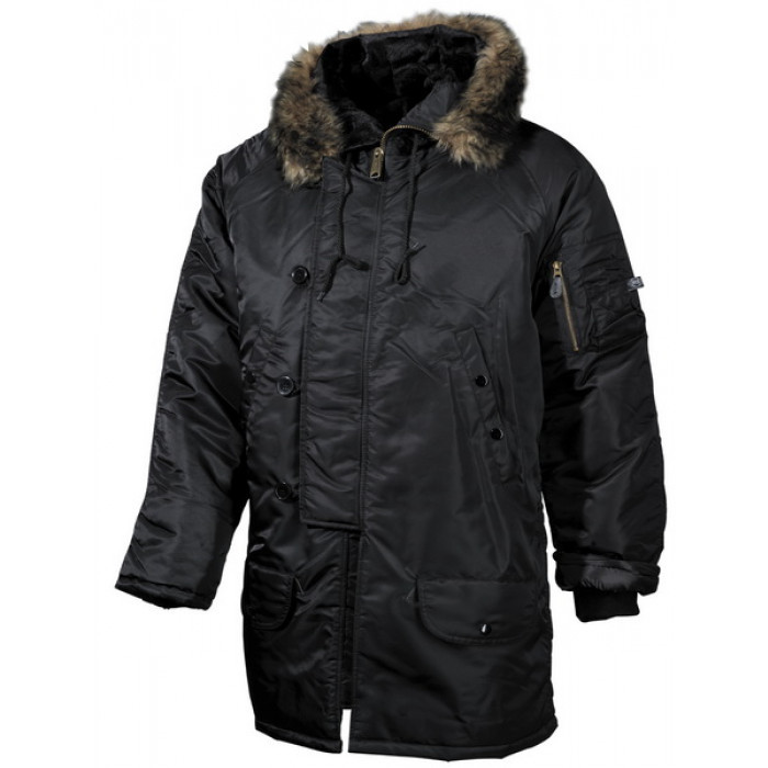 Купить Polar Jacket, N3B, black thick lining