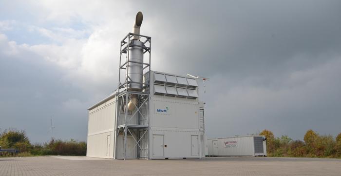 Купить Газопоршневая электростанция SUMAB (MWM) 4 000 Квт (двигатель MWM TCG 2032 V16)