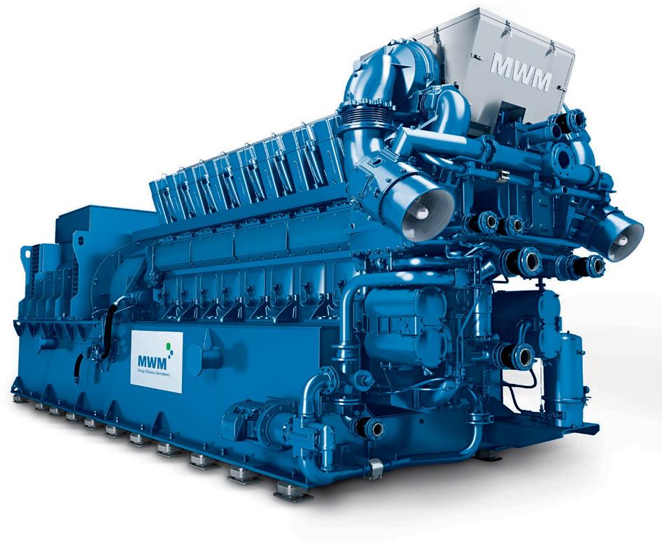 Купить Газопоршневая электростанция SUMAB , Caterpillar, GE Jenbacher (MWM TCG 2020) 1200 Квт