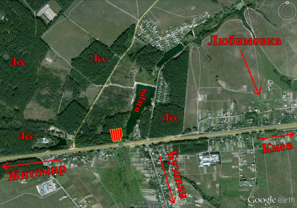 Земельные участки Любимовка, участки по 19,8 соток. Земли под дачное строительство. Купить участок. Купить земельный участок
