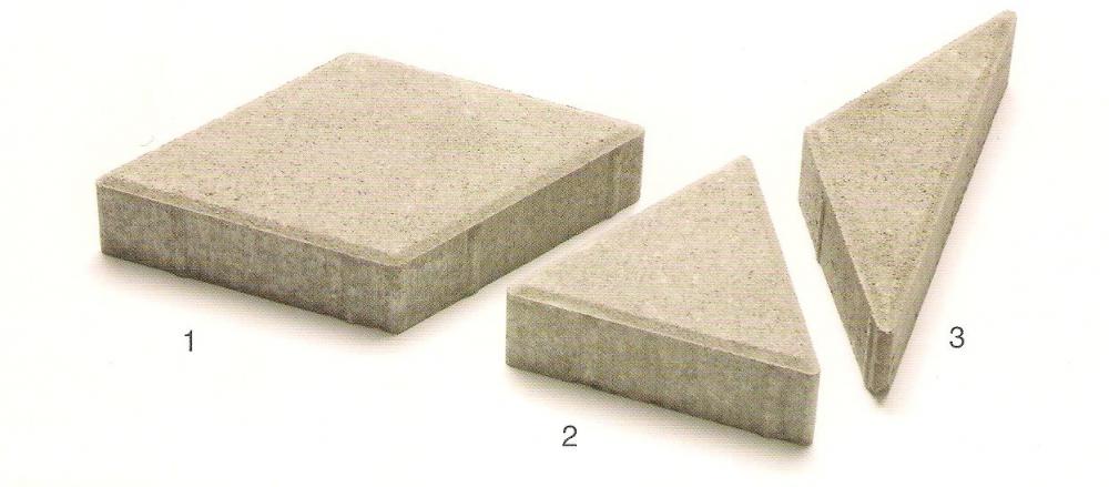 Купить Плиты бетонные для мощения, Ромб