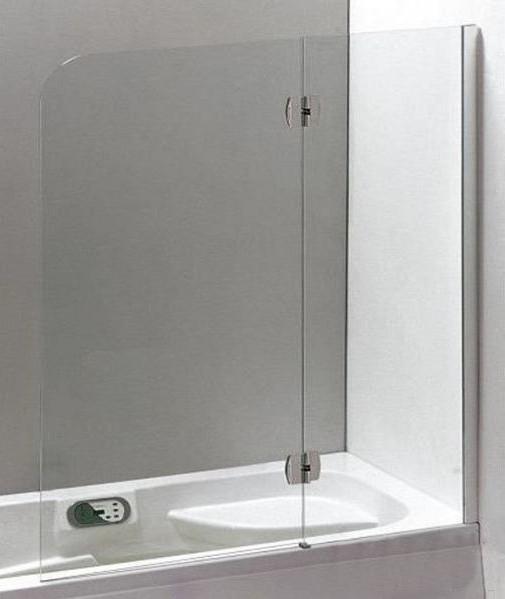 Купить Распашная шторка для ванны Eger (599-120CH/R)