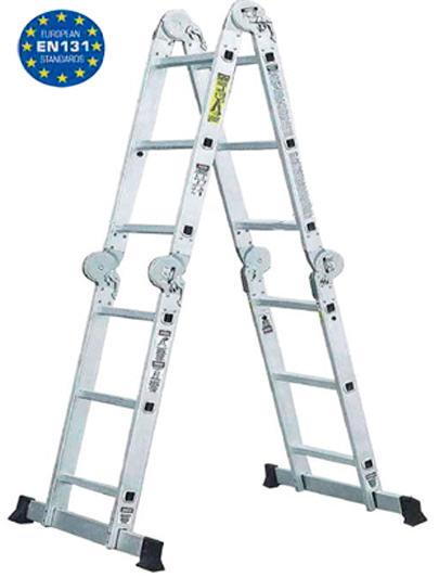Купити Шарнірні сходи Werk LC2412 (4х3)