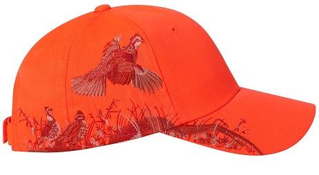 Кепка для охоты оранжевая Dri Duck Blaze Quail cap