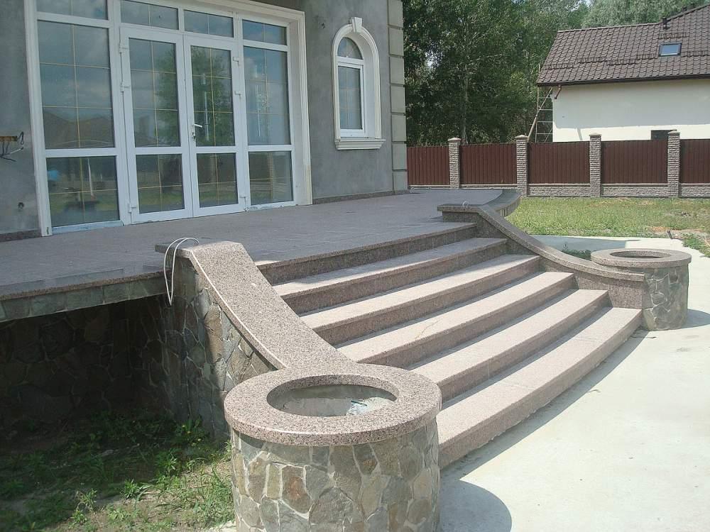 Купить Лестницы из мрамора и гранита от МК-Престиж