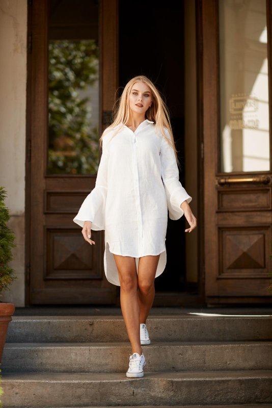 "Buy Dress-shirt ""PETUNIA"" WHITE"