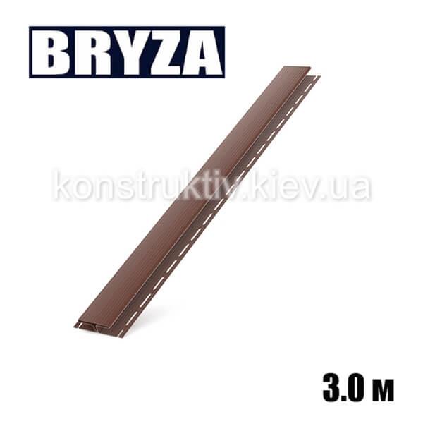 H-профиль, 3м, коричневый