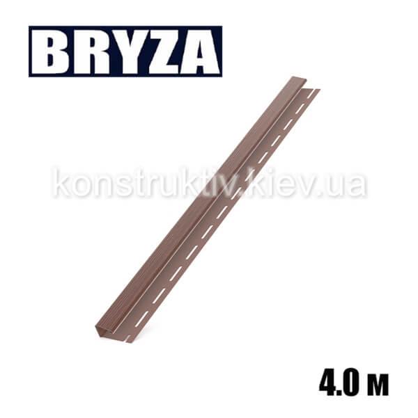 J-профиль, 4м, коричневый