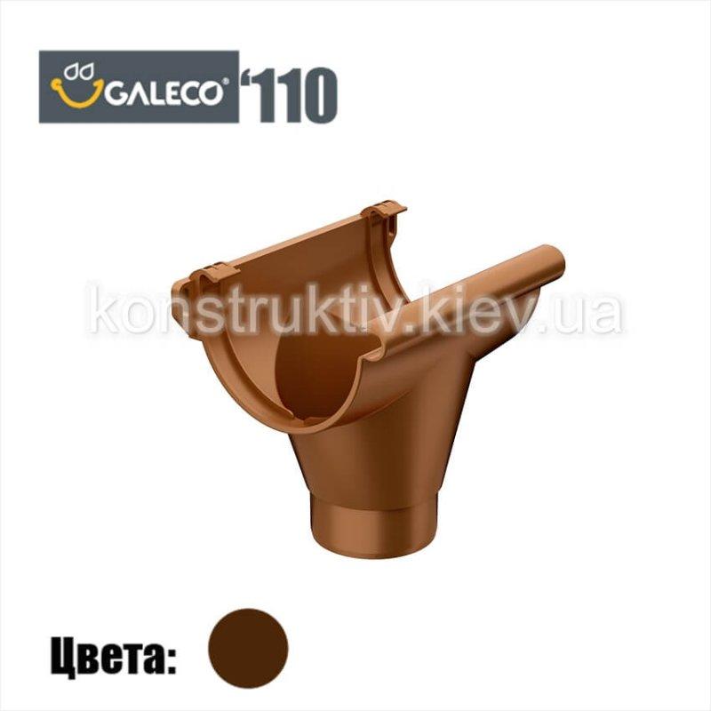 Воронка сливная, Galeco 110 (RAL 8017)