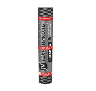 Еврорубероид кровельный ТЕХНОниколь Техноэласт Стандарт ЭКП 5,0 сланец серый, 10 м.