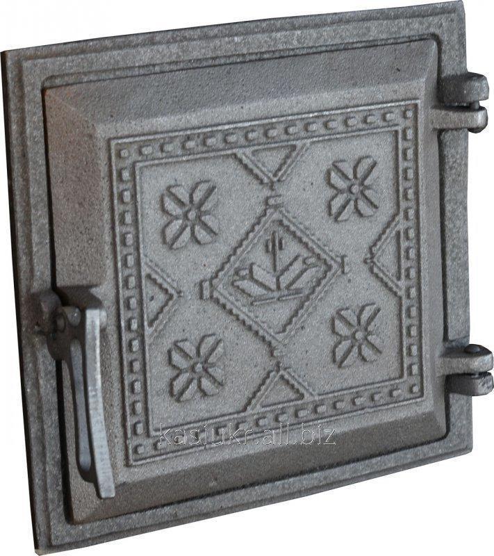 Дверка топочная на защелке ДТЗ-5 (250 х 265 мм.)