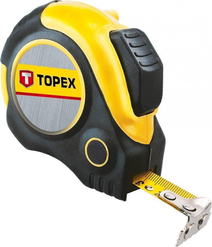 Купить Рулетка Topex 27C363 Рулетка, сталева стрiчка 3 м x 19 мм, магнiт