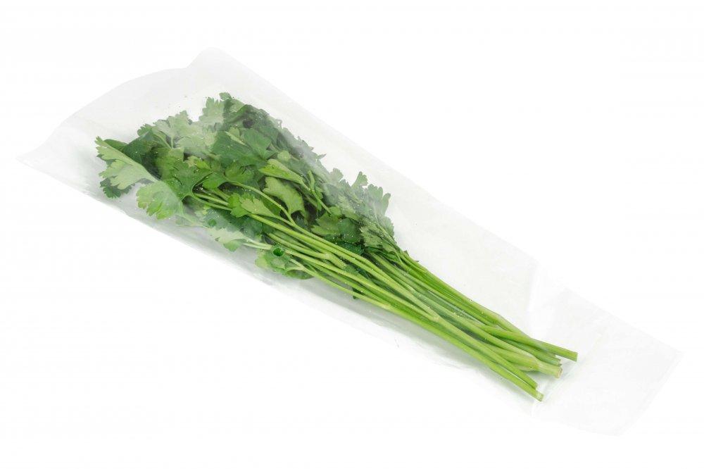 Купить Пакеты прозрачные для зелени, лука, цветов. Конусные кульки для листьев салата