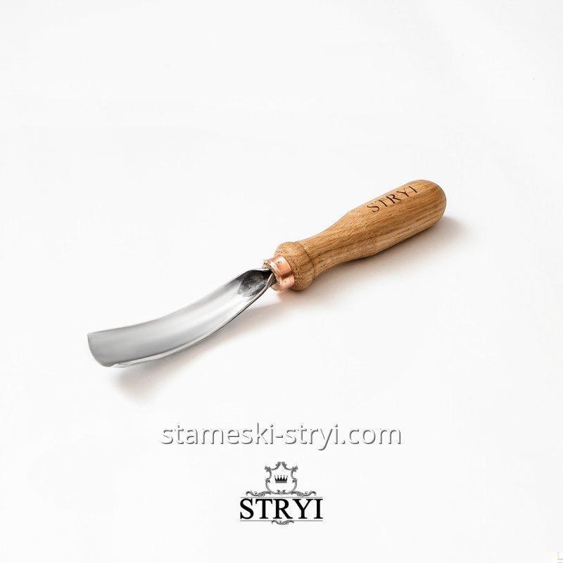 Клюкарза стамеска для резьбы по дереву STRYI, полукруглая 20 мм, арт.110820