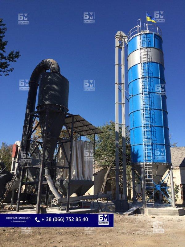 Силос цемента на 150 т, склад цемента на 150 т
