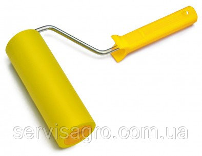 Валик прижимной резиновый с ручкой 6 мм 150 мм