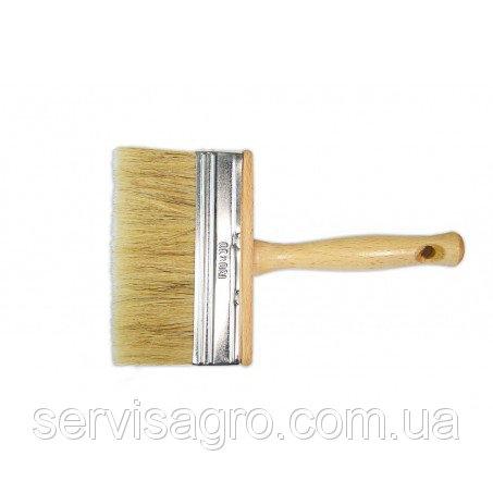 Кисть-макловица лакированная ручка длинная щетина 50х150 мм (Украина)